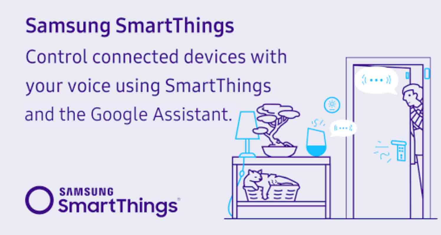 SmartThings: Google Home(Google アシスタント)アプリ